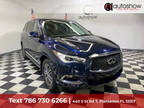 2017 Infiniti QX60 for sale at AUTOSHOW SALES & SERVICE in Plantation FL