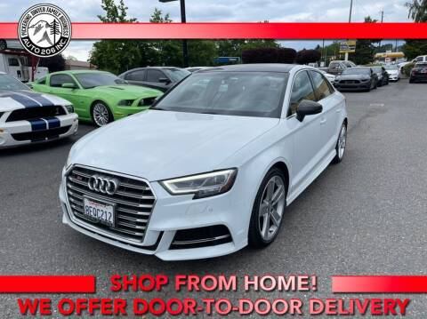 2018 Audi S3 for sale at Auto 206, Inc. in Kent WA