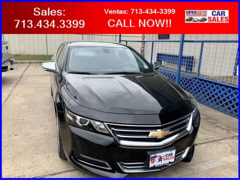 2020 Chevrolet Impala for sale at HOUSTON CAR SALES INC in Houston TX