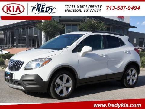 2016 Buick Encore for sale at FREDY KIA USED CARS in Houston TX