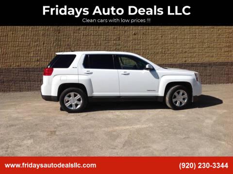 2014 GMC Terrain for sale at Fridays Auto Deals LLC in Oshkosh WI