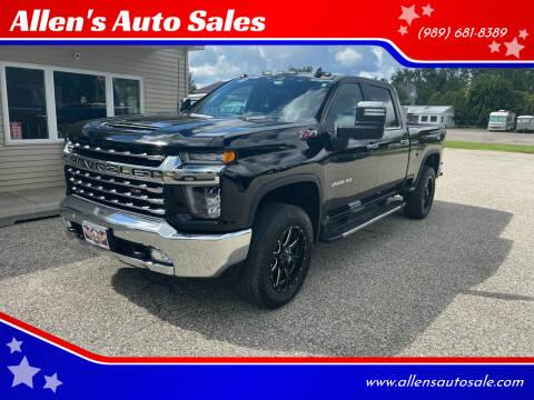 2020 Chevrolet Silverado 2500HD for sale at Allen's Auto Sales in Saint Louis MI