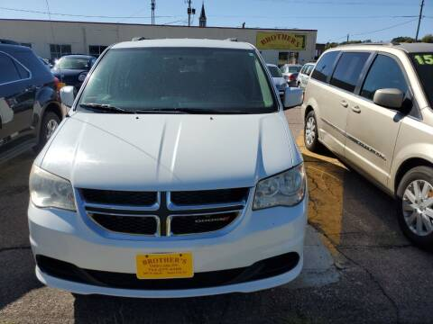 2014 Dodge Grand Caravan for sale at Brothers Used Cars Inc in Sioux City IA