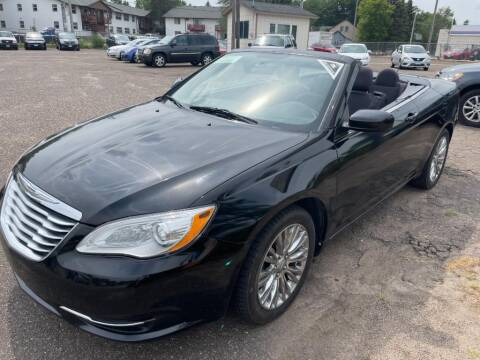2013 Chrysler 200 Convertible for sale at CHRISTIAN AUTO SALES in Anoka MN
