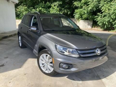 2013 Volkswagen Tiguan for sale at McAdenville Motors in Gastonia NC