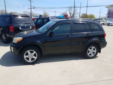 2003 Toyota RAV4 for sale at Kenosha Auto Outlet LLC in Kenosha WI