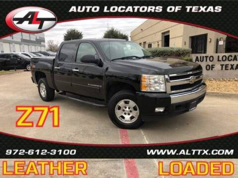 2007 Chevrolet Silverado 1500 for sale at AUTO LOCATORS OF TEXAS in Plano TX