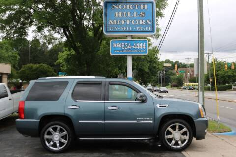 2008 Cadillac Escalade for sale at North Hills Motors in Raleigh NC