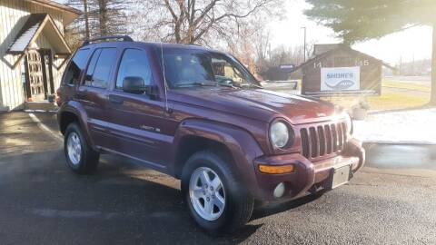 2002 Jeep Liberty for sale at Shores Auto in Lakeland Shores MN