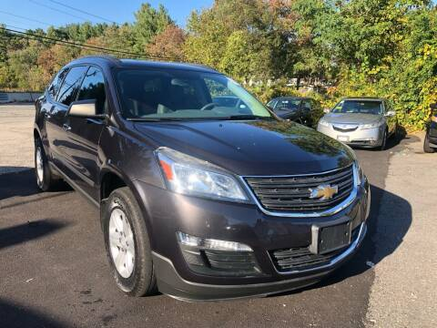2013 Chevrolet Traverse for sale at Royal Crest Motors in Haverhill MA
