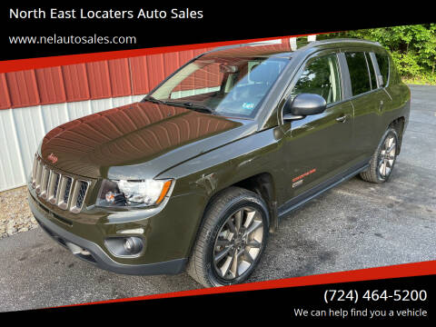 2016 Jeep Compass for sale at North East Locaters Auto Sales in Indiana PA