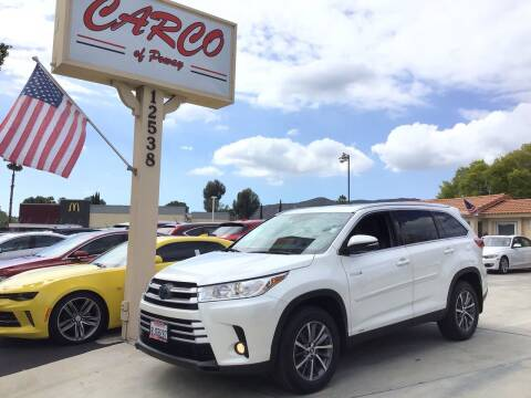 2019 Toyota Highlander Hybrid for sale at CARCO OF POWAY in Poway CA