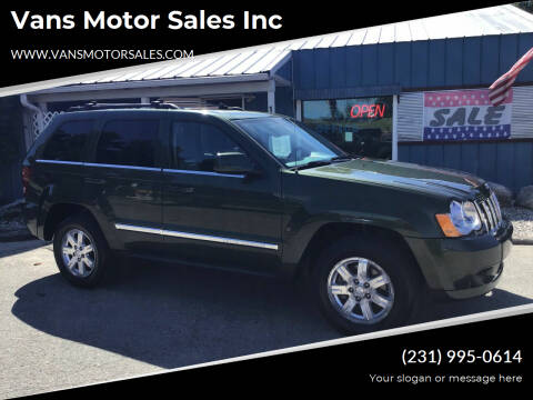 2008 Jeep Grand Cherokee for sale at Vans Motor Sales Inc in Traverse City MI