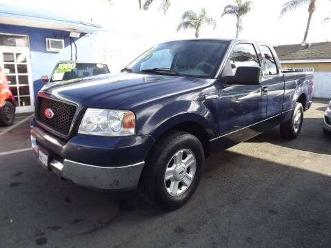 2004 Ford F-150 for sale at PACIFICO AUTO SALES in Santa Ana CA