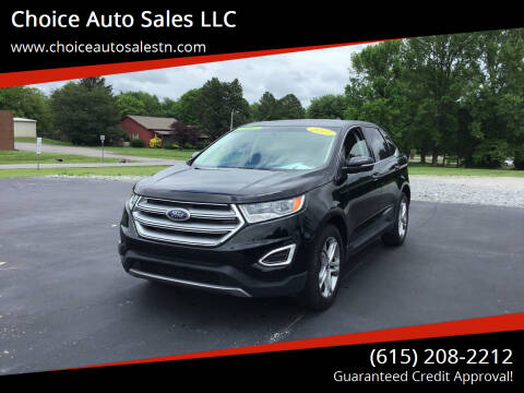 2017 Ford Edge for sale at Choice Auto Sales LLC - Cash Inventory in White House TN