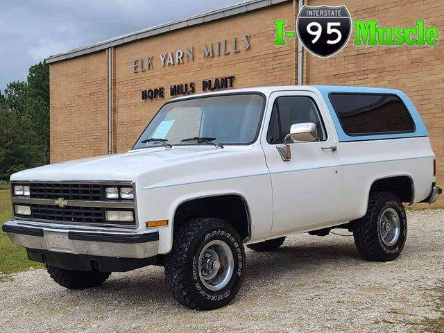 1990 Chevrolet Blazer for sale at I-95 Muscle in Hope Mills NC