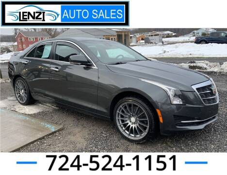 2015 Cadillac ATS for sale at LENZI AUTO SALES in Sarver PA