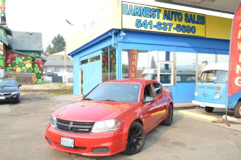 2014 Dodge Avenger for sale at Earnest Auto Sales in Roseburg OR