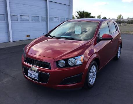 2013 Chevrolet Sonic for sale at My Three Sons Auto Sales in Sacramento CA