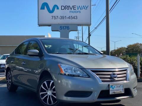 2014 Nissan Sentra for sale at Driveway Motors in Virginia Beach VA
