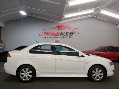 2012 Mitsubishi Lancer for sale at Premium Motors in Villa Park IL