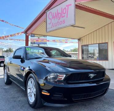 2011 Ford Mustang for sale at Sandlot Autos in Tyler TX