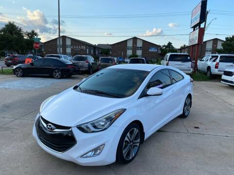 2014 Hyundai Elantra Coupe for sale at Car Gallery in Oklahoma City OK