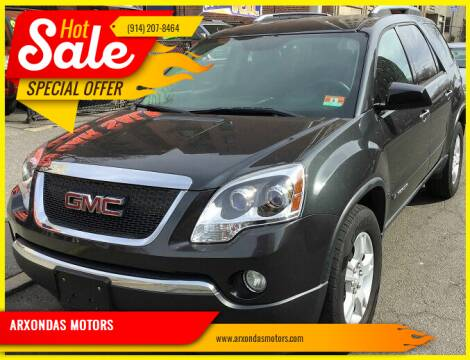 2007 GMC Acadia for sale at ARXONDAS MOTORS in Yonkers NY