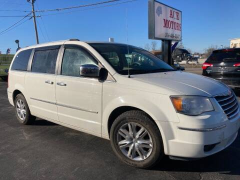 2008 Chrysler Town and Country for sale at Ace Motors in Saint Charles MO