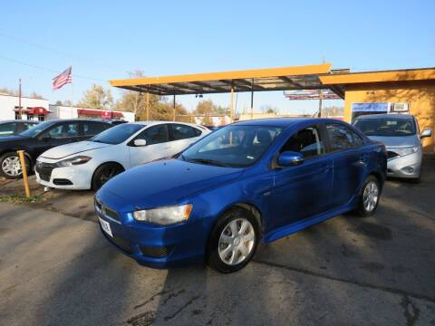 2015 Mitsubishi Lancer for sale at Nile Auto Sales in Denver CO