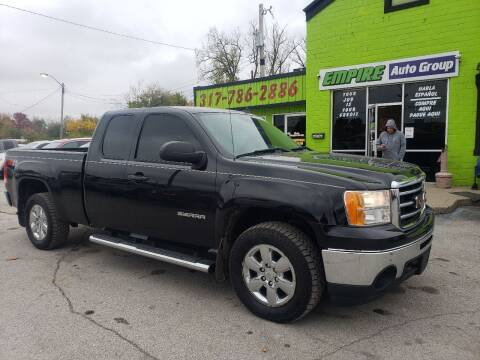 2013 GMC Sierra 1500 for sale at Empire Auto Group in Indianapolis IN