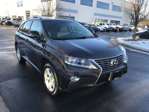 2013 Lexus RX 350 for sale at Dotcom Auto in Chantilly VA