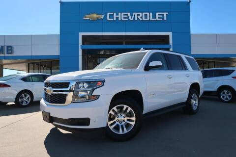 2017 Chevrolet Tahoe for sale at Lipscomb Auto Center in Bowie TX