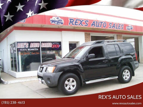 2009 Nissan Xterra for sale at Rex's Auto Sales in Junction City KS