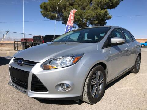 2014 Ford Focus for sale at Eastside Auto Sales in El Paso TX