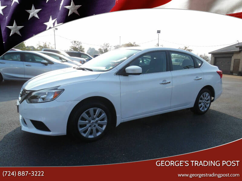 2017 Nissan Sentra for sale at GEORGE'S TRADING POST in Scottdale PA