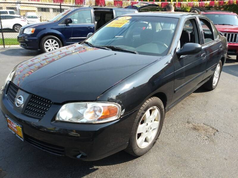 2005 Nissan Sentra for sale at RON'S AUTO SALES INC in Cicero IL