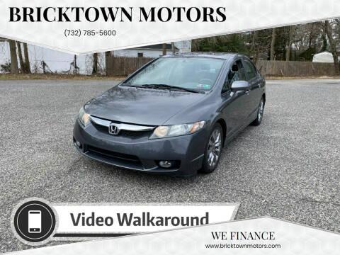 2009 Honda Civic for sale at Bricktown Motors in Brick NJ