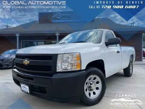 2009 Chevrolet Silverado 1500 for sale at Global Automotive Imports of Denver in Denver CO
