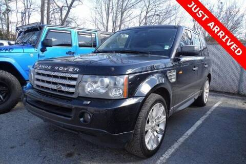 2008 Land Rover Range Rover Sport for sale at Brandon Reeves Auto World in Monroe NC