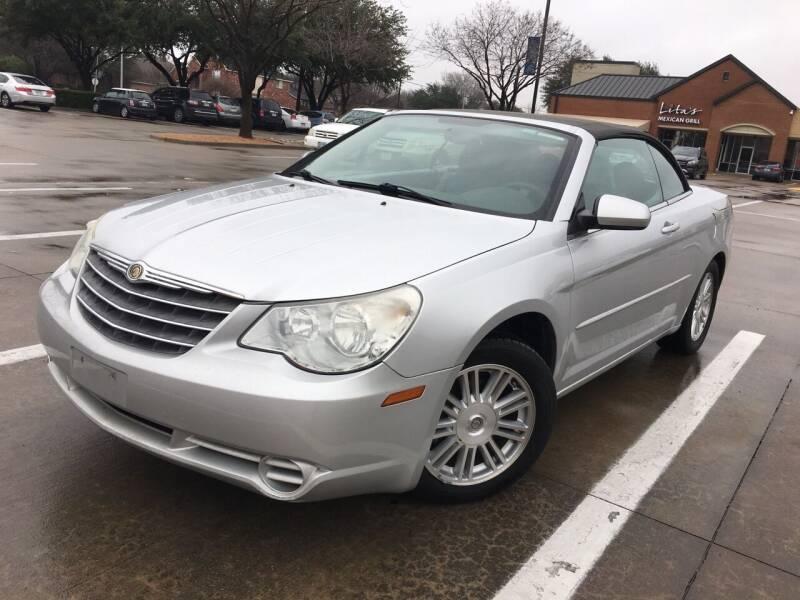 2008 Chrysler Sebring for sale at TETCO AUTO SALES  / TETCO FUNDING in Dallas TX