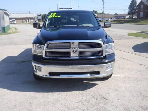 2012 RAM Ram Pickup 1500 for sale at Shaw Motor Sales in Kalkaska MI