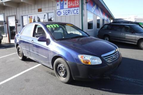 2008 Kia Spectra for sale at 777 Auto Sales and Service in Tacoma WA