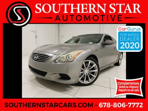 2008 Infiniti G37 for sale at Southern Star Automotive, Inc. in Duluth GA