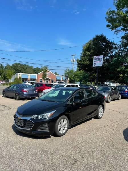 2019 Chevrolet Cruze for sale at NEWFOUND MOTORS INC in Seabrook NH