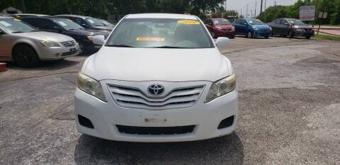 2010 Toyota Camry for sale at Anthony's Auto Sales of Texas, LLC in La Porte TX