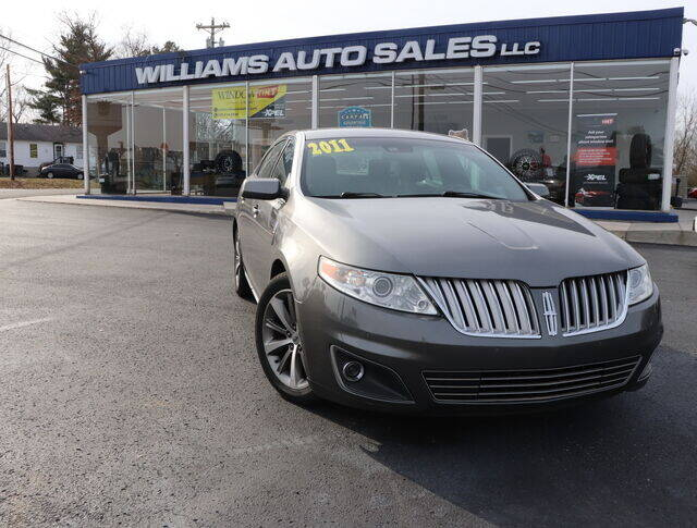 2011 Lincoln MKS for sale at Williams Auto Sales, LLC in Cookeville TN