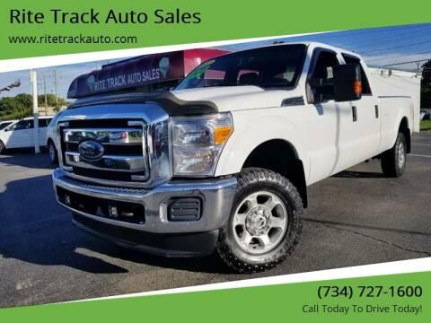 2012 Ford F-350 Super Duty for sale at Rite Track Auto Sales in Wayne MI