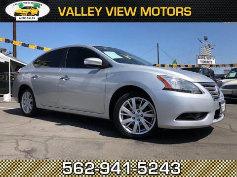 2014 Nissan Sentra for sale at Valley View Motors in Whittier CA
