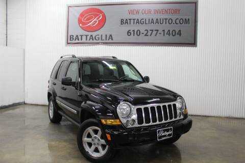 2006 Jeep Liberty for sale at Battaglia Auto Sales in Plymouth Meeting PA